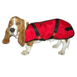 Red Basset Dog Coat