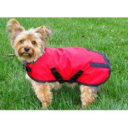 Dog Rain Coat Red